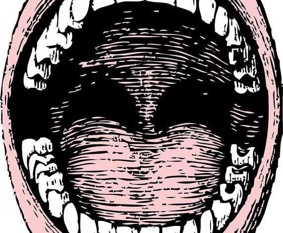 Zungendiagnose, Zunge, Mund, Zähne